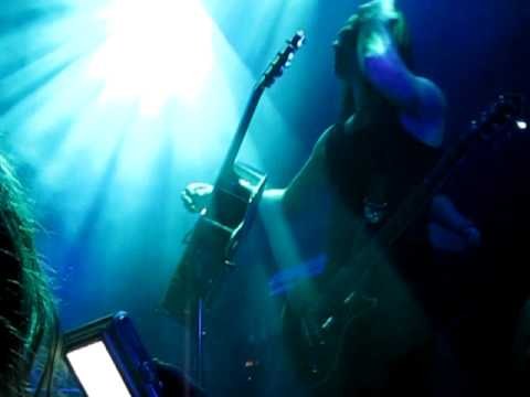Epica - Kingdom of Heaven  Isaac Delahaye guitar solo live in Katowice 01.10.2010