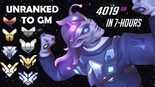 UNRANKED TO GM ZARYA ONLY (EDUCATIONAL)