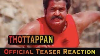 THOTTAPPAN TEASER TRAILER REACTION | VINAYAKAN | SHANAVAS K BAVAKUTTY