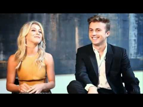 Kenny Wormald And Julianne Hough: Behind The Scene Of Elle Magazine Shoot