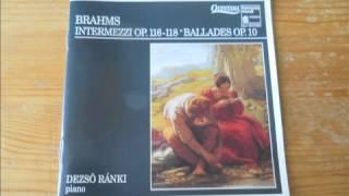 Brahms: Scherzo Op. 4 ~ Klavierstücke Op. 116-118 ~ Ballades Op. 10 (Full Album)