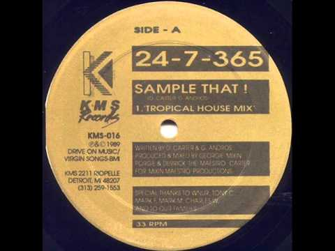 24-7-365 - Sample That (Tropical House Mix)