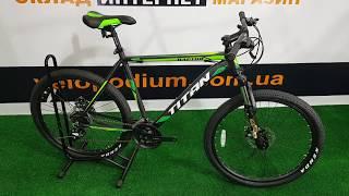 Обзор на велосипед Titan Raptor 26