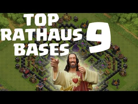 TOP RATHAUS 9 BASES! || CLASH OF CLANS || Let's Play CoC [Deutsch/German HD]