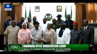 Obiano Promises To complete Permanent NYSC Orientation Camp In Three Months
