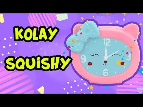 Kağıt Sukuşi Nasıl Yapılır - Kağıt Squishy Yapımı - Saat Squishy - OYUNCAK HEDİYE TV