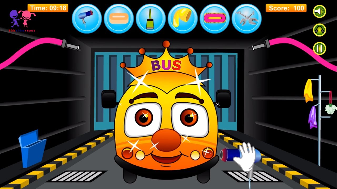 baby bus games to play