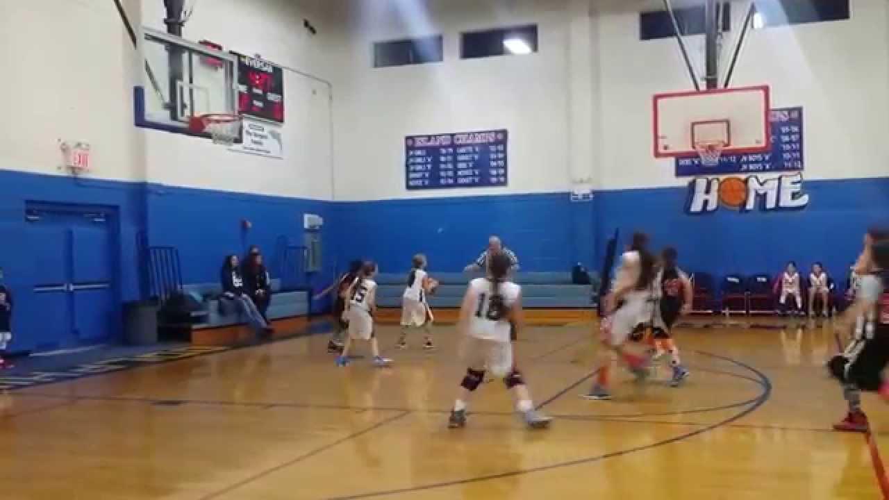 olssbasketball St Teresa vs OLSS 5th grade girls basketball pt 1 - YouTube