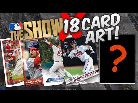 CARD ART FOR MLB THE SHOW 18 DIAMOND DYNASTY