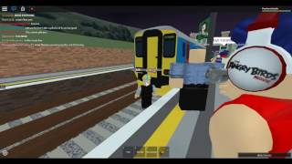 Roblox: Rare trains on MTG | Class 156 at Herrington (24/09/2016)