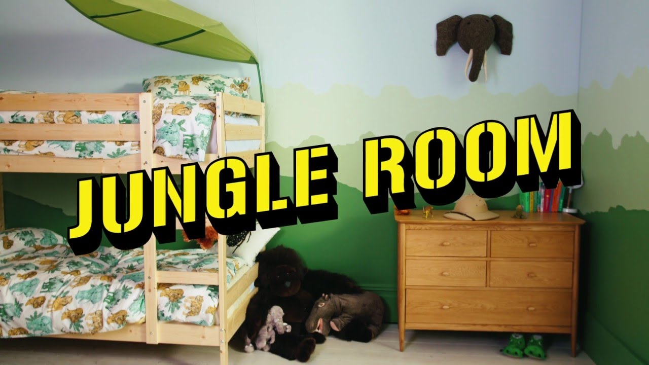 Jungle Room Dulux Kids Bedrooms Youtube
