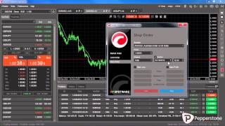 cTrader Forex- Limit and stop orders with Pepperstone