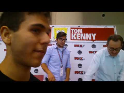 I met Tom Kenny the voice actor of Spongebob at Fan Expo on Sep 2nd , 2015