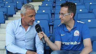 Interview mit dem neuen Cheftrainer Pavel Dotchev