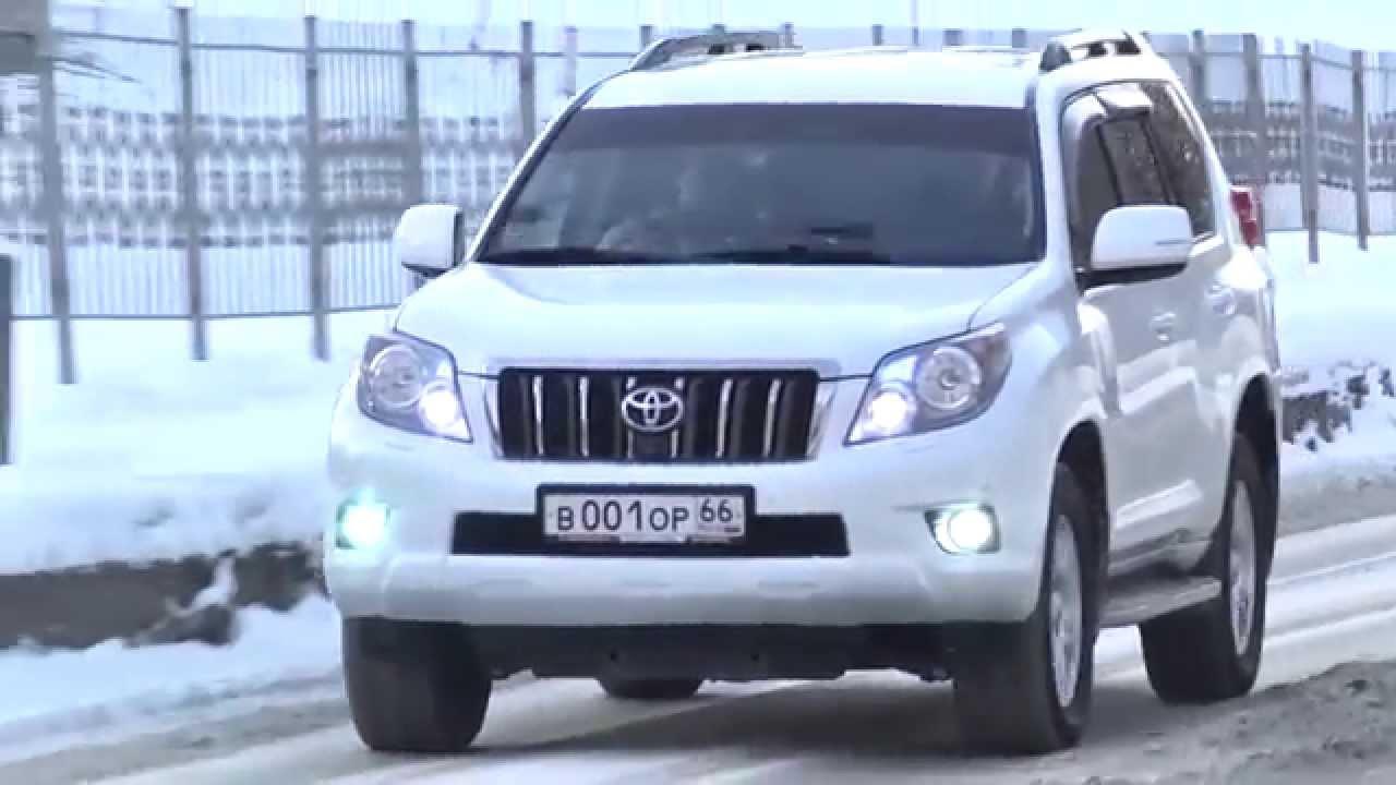 Новый Toyota Land Cruiser Prado 2017 — какой он - YouTube
