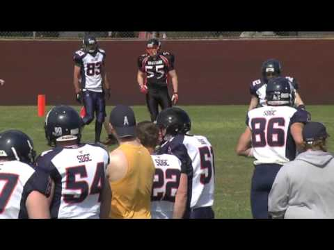 2015 Gridiron SA Round 1: Port Adelaide Spartans vs Southern District Oilers