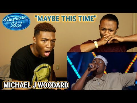 """Michael J. Woodard Sings """"Maybe This Time"""" From Cabaret - American Idol 2018 On ABC (REACTION)"""