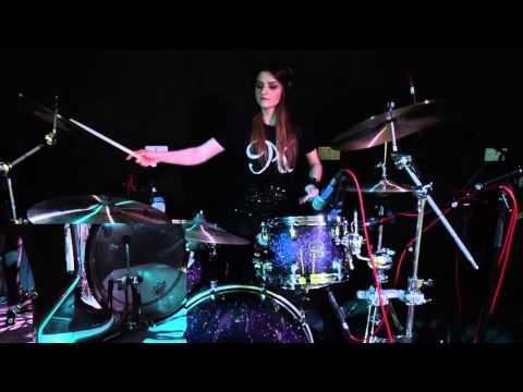 Alexandra Kyra Drum Mash-up ( Deantoni Parks, Mark Guiliana, Skrillex ft Diplo)