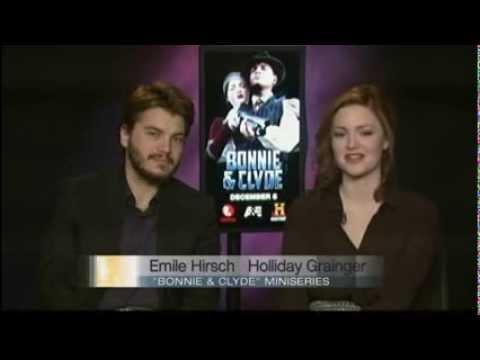 Emile Hirsch &  Holliday Grainger Interview by OzarksFirst com