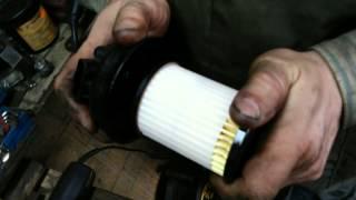 Топливный филтр замена opel combo 1,3tdci
