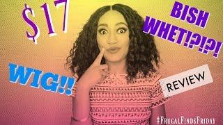 $17 Beyonce Inspired Bob WIG!! BISH WHETT?!?! #FrugalFindsFriday