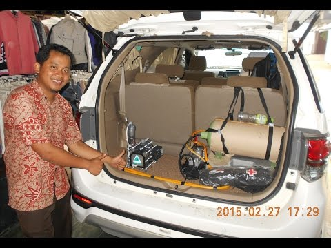 HHO Fuel Saver Joko Energy on Toyota Fortuner 2013