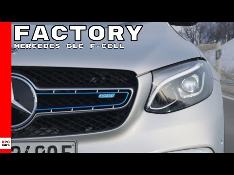 Mercedes GLC F-CELL Factory Assembly & Test Drive