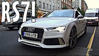 FUN in 2015 Audi RS7 with IDIOTS!