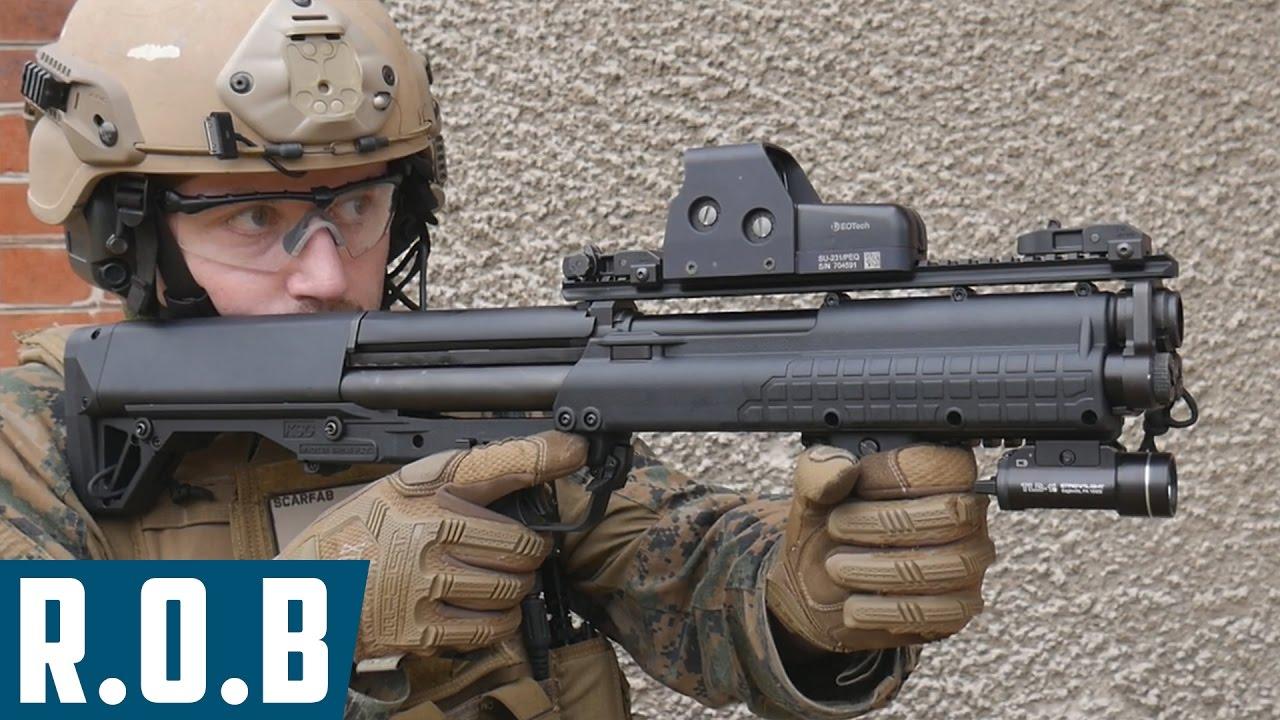 Airsoft | Tokyo Marui KSG Gaz Shotgun | Review on ...
