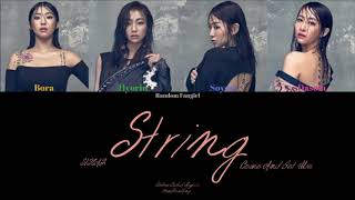 SISTAR (씨스타) - String/Come And Get Me (끈) [Colour Coded Lyri…
