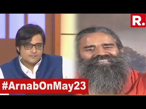 Baba Ramdev Speaks Exclusively To Arnab Goswami From Haridwar On Lok Sabha Election Results 2019