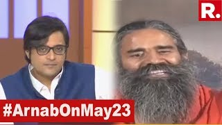 Baba Ramdev Speaks Exclusively To Arnab Goswami From Haridwar On Lok Sabha Election Results 2019