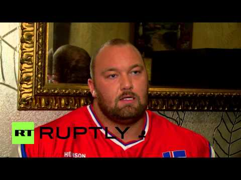 United States: Game of Thrones star trains to be World's Strongest Man