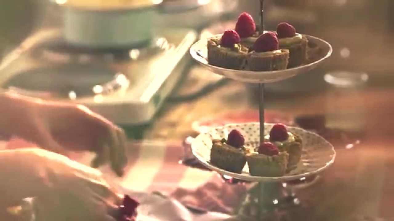 Teeny White Chocolate, Pistachio and Raspberry Tarts Recipe pictures