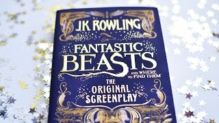Fantastic Beasts and Where to Find Them - Unboxing