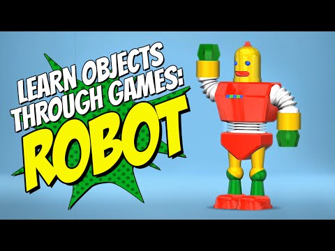 Fun Kids Games Robot Game Learn Shapes With Educational Game 1-8