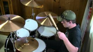 "GEORGE STRAIT ""I Cross My Heart"" (Drum Cover)"