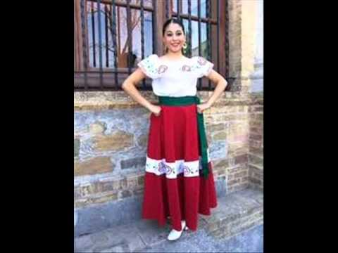0f28f1d78 TRAJES TIPICOS DE LA REPUBLICA MEXICANA - YouTube