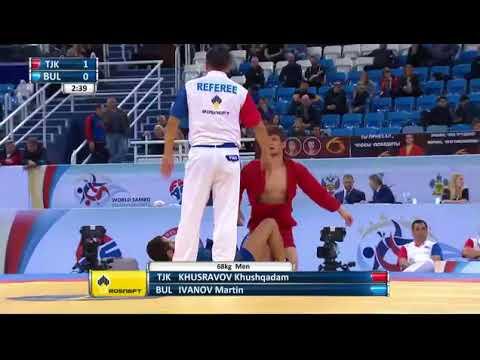 Подсудили таджикского самбиста Хусравов Хушкадам борьба за 3тый место Сочи 2017