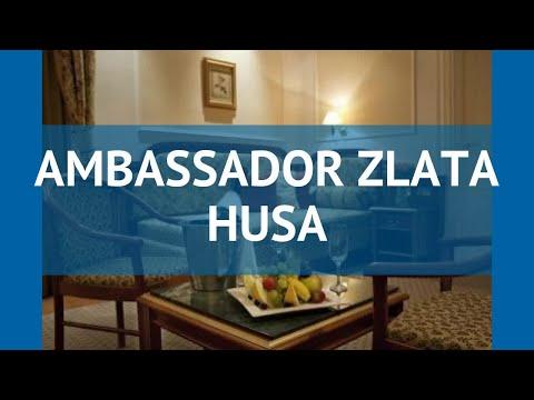 AMBASSADOR ZLATA HUSA 5* Чехия Прага обзор – отель АМБАССАДОР ЗЛАТА ХУСА 5* Прага видео обзор