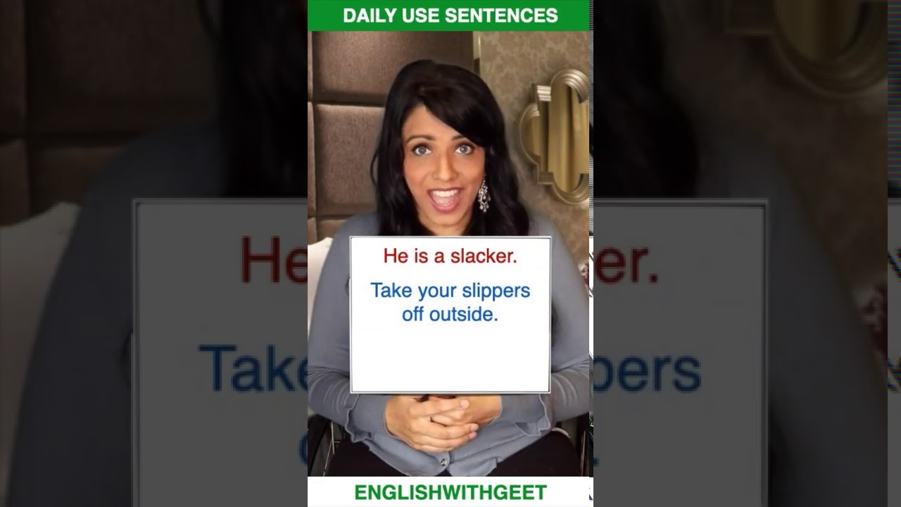 English Daily Use Sentences & Phrases | English Speaking Practice | English With Geet | #Shorts