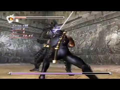 Ninja Gaiden Black Ryu Vs Doku Mision Extra Youtube