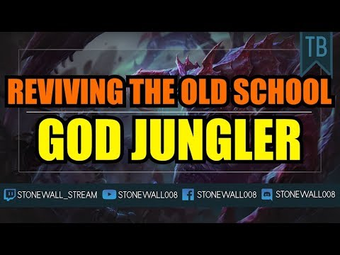 Reviving The Old School God Jungler - Cho'gath