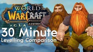 Classic WoW Vs Retail WoW - 30 Minute Comparison (Dwarf Starting Zone)