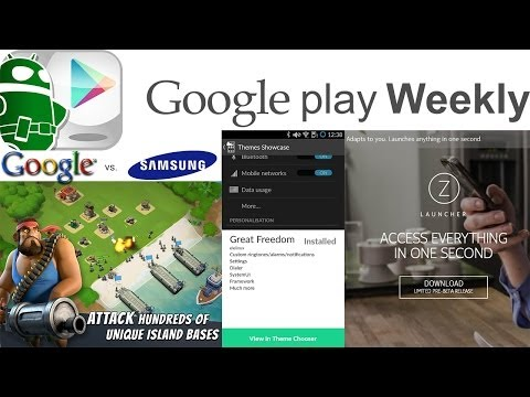 New Samsung and Nokia Launchers, Facebook releases Slingshot, AOSP Email - Google Play Weekly