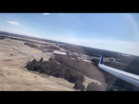 delta-connection-crj-900-windy-approach-&-landing-in-washington-dulles