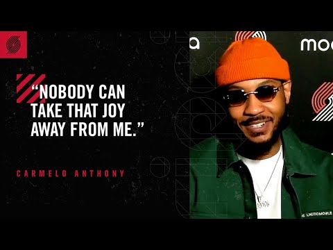 "Carmelo Anthony: ""Nobody can take that joy away from me"" 