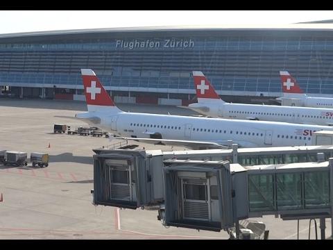 |HD| Spotting at Zurich Kloten Airport