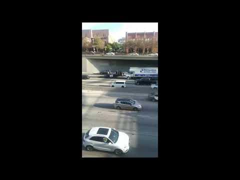 Refuse Fascism Highway block fail in L.A.