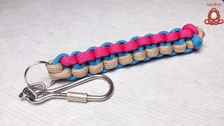 How to make Triangle Stitch  keychain scoobie